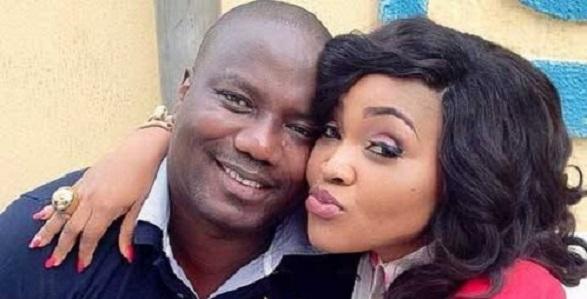 Mercy Aigbe celebrates