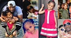 Peter Okoye family photo