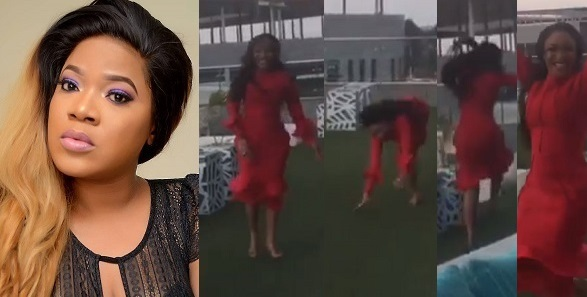 Image result for Tonto Dikeh reacts to Toyin Abraham's Engagement.