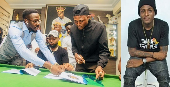 Davido signs Idowest to his record label