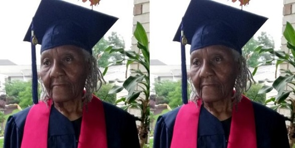 89-Year-Old woman graduates