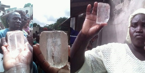 Members Of A Church in Ibadan Claim That Jesus Revealed Himself In 'Diamond Stone' (photos)
