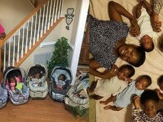 Nigerian couple gave birth