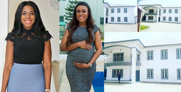 Linda Ikeji corrects her caption from 'got' to 'rented a 11-room mansion' after she was called out for misleading her young followers (Details)