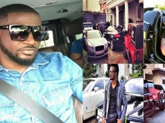 Peter Okoye car garage
