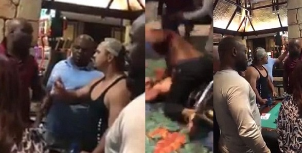 SHOCKING VIDEO: Nigerian Man Beats Racism Out Of A South African Bully