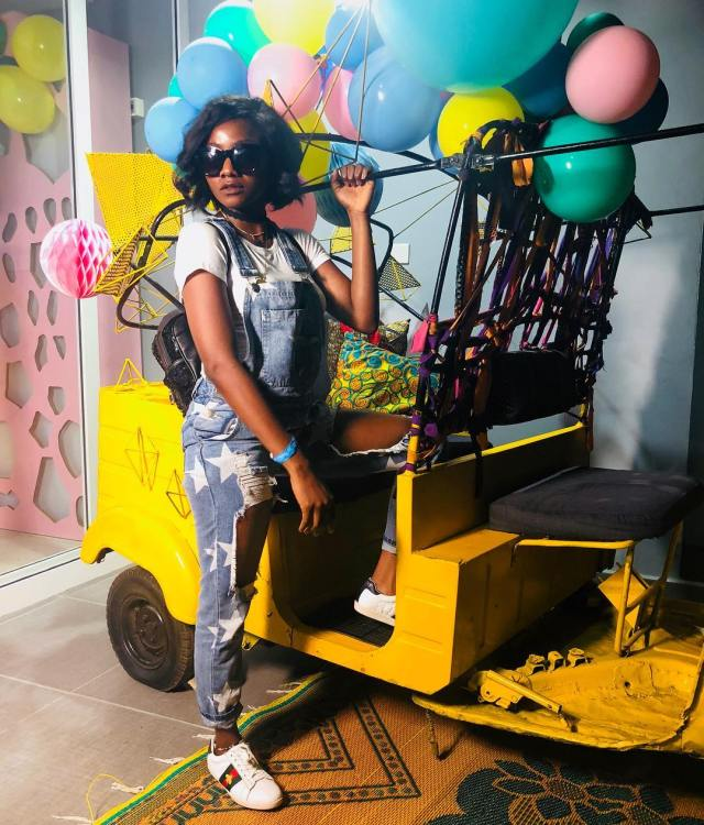 Stunning new photos of singer, Simi as she poses inside Keke Napep