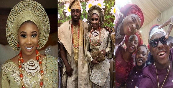 Wunmi Toriola traditional wedding