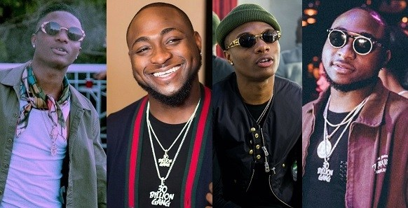 Bromance! Davido praises Wizkid after he said he'll be performing to a 20,000 crowd