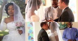Woman marries