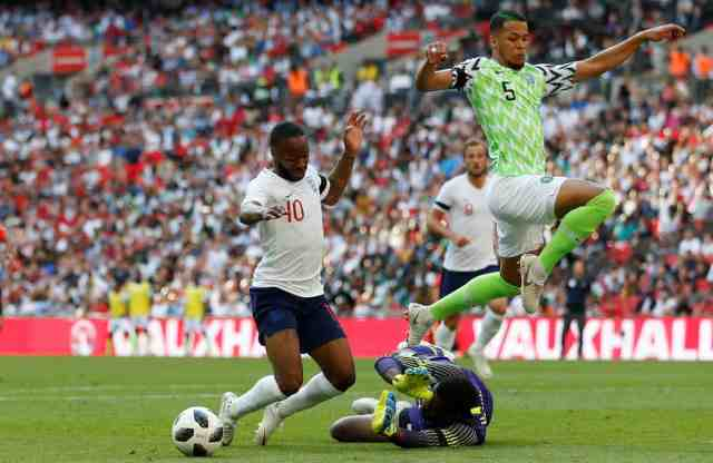 England vs Nigeria Friendly