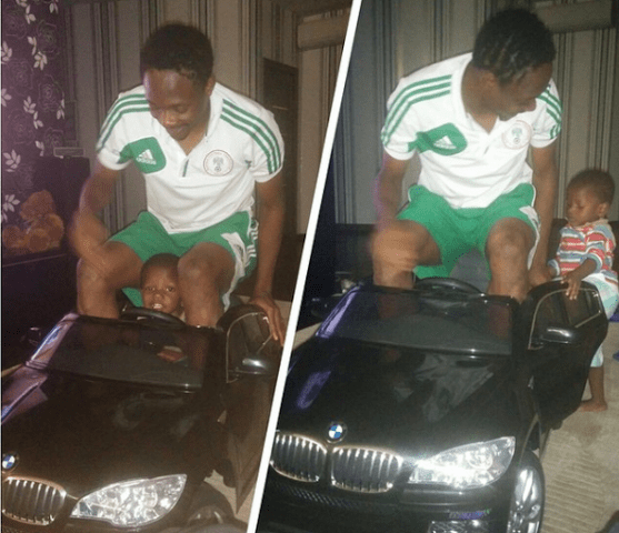 Ahmed Musa's expensive car collection