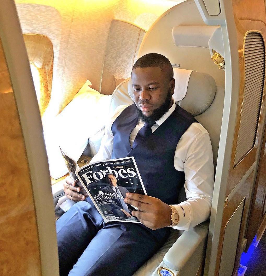 Nigerian Big Boy, Hushpuppi, celebrates reaching 2 million followers on  Instagram | Lucipost