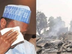 President Buhari breaks
