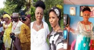 Nigerian lady shares wedding