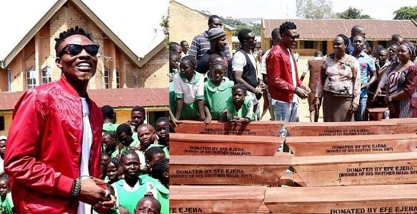 Efe donates classroom