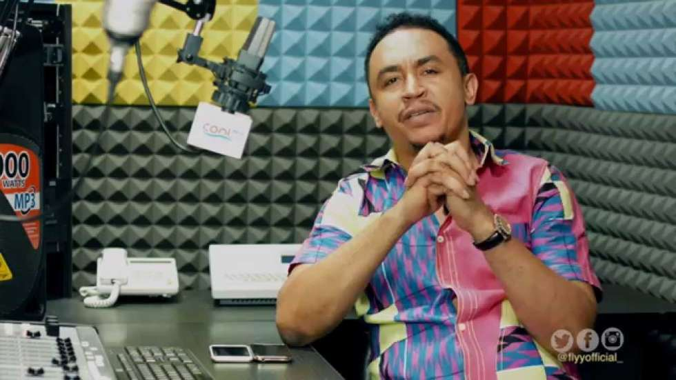 Daddy Freeze disagrees with Femi Otedola for saying 'technology ended the need for archaic wristwatches'