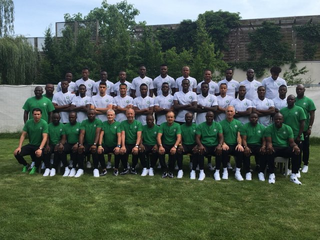 2018 Russia World Cup: Nigeria Release Official Team Photo - Image ~ Naijabang