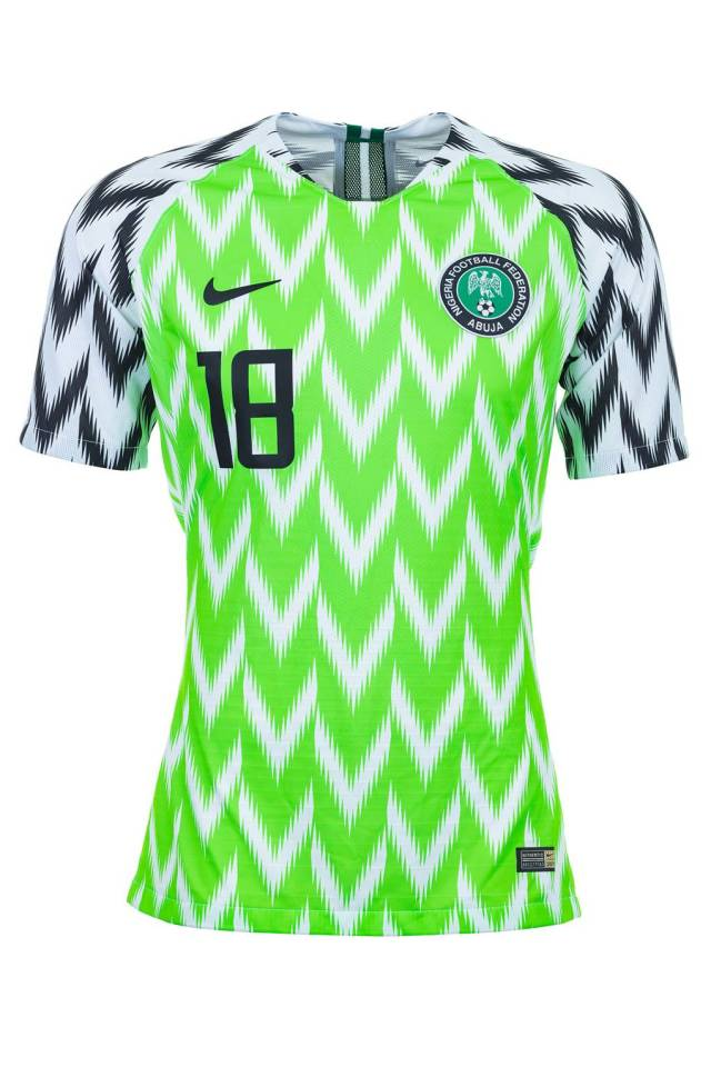 See The Top 32 Country Jersey For Russia WorldCup as GQ ranks Super Eagles   Jersey as Best World Cup 2018 Kit And Senegal Last(Full List + Photos) 8b8289507