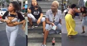 Nigerian women fight