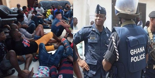 50 Nigerians arrested