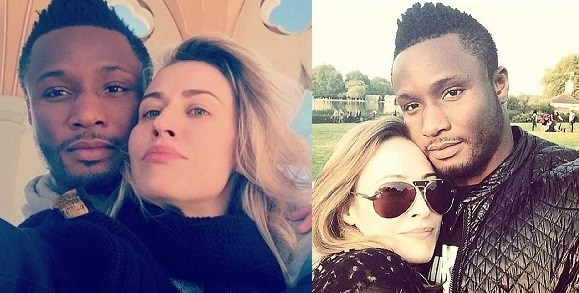 Mikel Obi's Russian wife, Olga Diyachenko, reacts to Super Eagles' loss