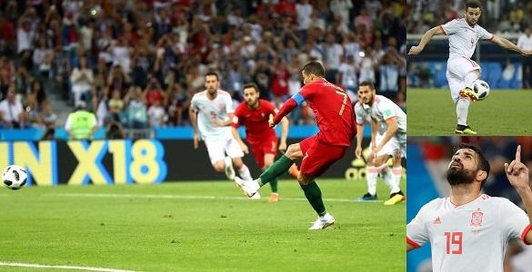 Portugal & Spain draw