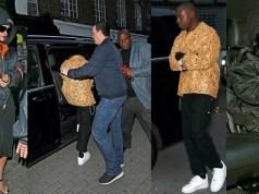 Rihanna spotted