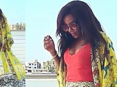 Genevieve Nnaji flaunts cleavage