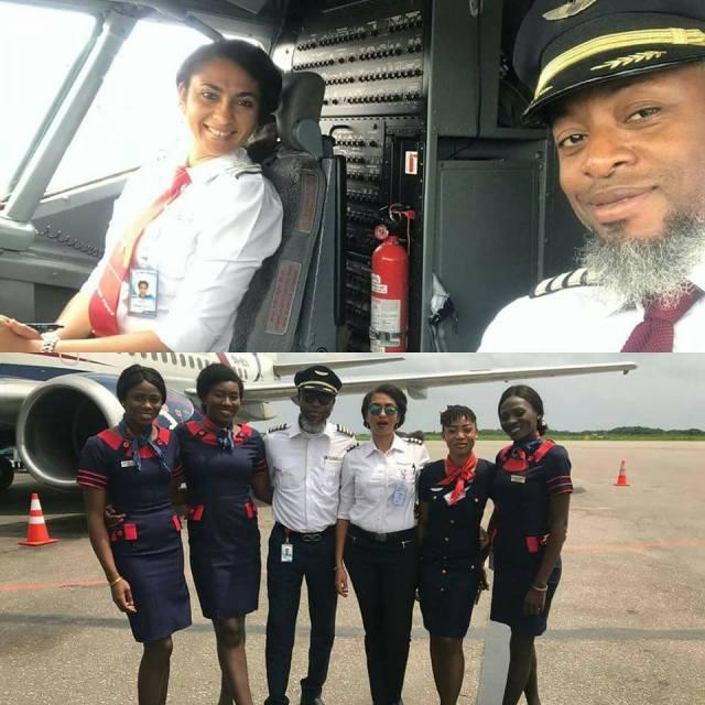 Akwa Ibom first female pilot