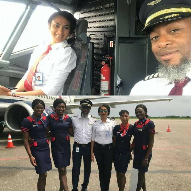 Akwa Ibom first female pilot
