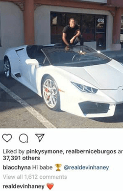 Blac Chyna reportedly dating