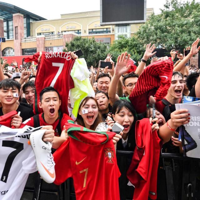 ronaldo at china