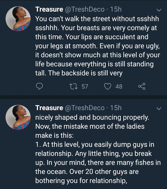 Nigerian lady stirs controversy