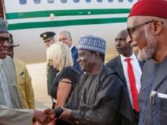 Buhari arrives Netherland