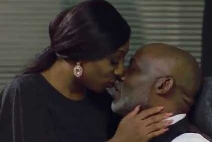 """My passionate kiss with RMD comes with the job – Dakore Akande"