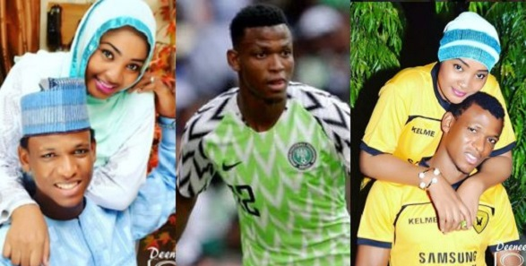 Super Eagles player beats