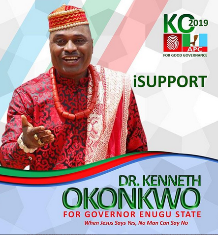 kenneth okonkwo joins politics