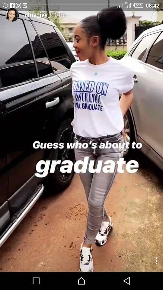 BBNaija's Nina excited as she is set to graduate from IMSU