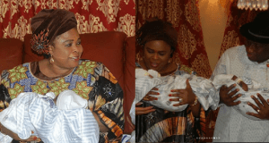 Patience Jonathan excited