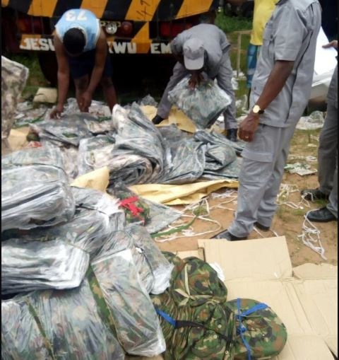 Nigerian customs intercepts