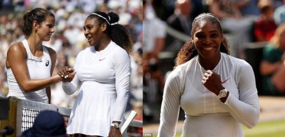Serena Williams reaches