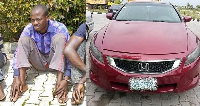 Nigerian Man steals