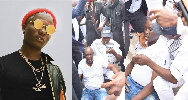 , Wizkid reacts to report of Governor Fayose's collapse when police fired teargas., No. 1 Information Arena