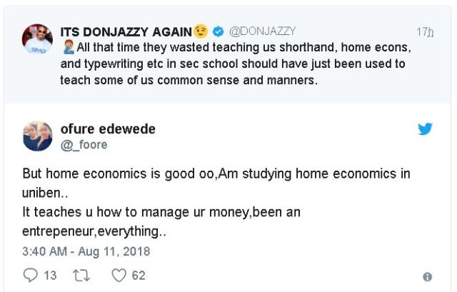 Don Jazzy says