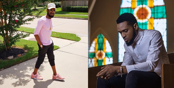 Image result for D'Banj shares first photo of himself weeks after losing his son, Daniel
