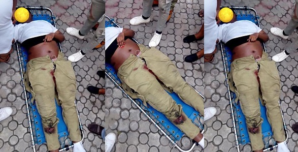 Image result for NYSC member knocked down by reckless Danfo driver in Lagos, dies
