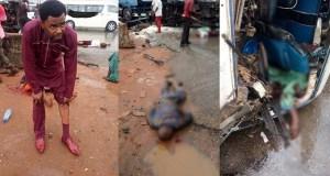 Pastor Survives Accident
