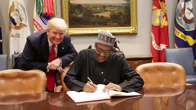 "Trump referred to Buhari as ""lifeless"" – Financial Times"