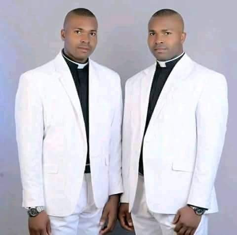 Identical twin brothers ordained